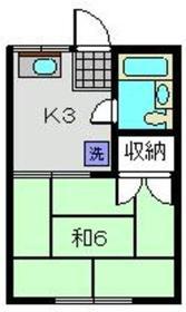 高島町駅 徒歩16分1階Fの間取り画像