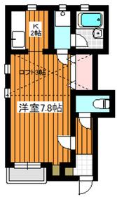 アルエットY1階Fの間取り画像