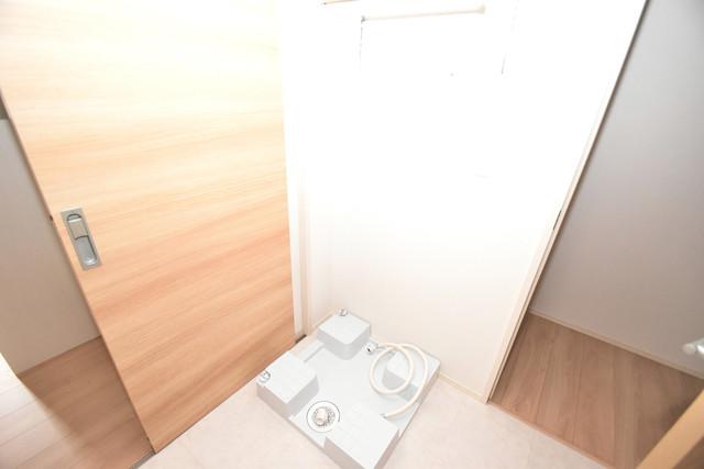 Queen Serenity(クイーンセレニティ) 嬉しい室内洗濯機置場は脱衣場も兼ねています。