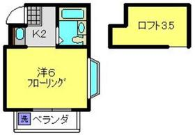 レフア2階Fの間取り画像