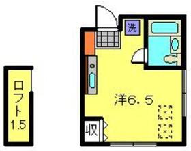 フルールデシャン2階Fの間取り画像
