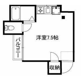 メゾン荒井3階Fの間取り画像