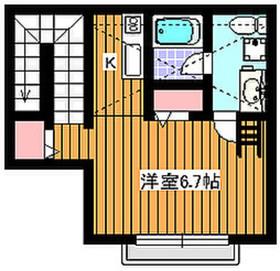 成増駅 徒歩6分2階Fの間取り画像