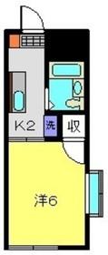 星川駅 徒歩11分1階Fの間取り画像