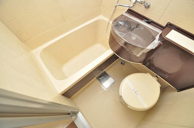 ノアーズアーク深江橋 お風呂・トイレが一緒なのでお部屋が広く使えますね。