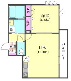 ラ・ルニオン 302号室