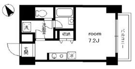 シャルム内神田9階Fの間取り画像