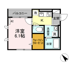 キャメロットハウス3階Fの間取り画像
