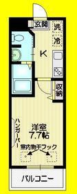 サフィーロ武蔵関1階Fの間取り画像