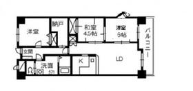 ブランシャトー3階Fの間取り画像