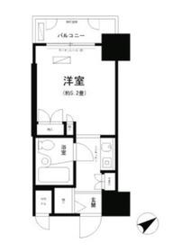京急鶴見駅 徒歩5分6階Fの間取り画像