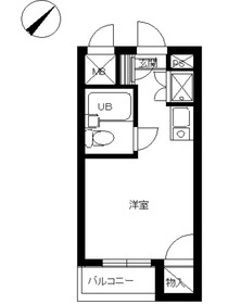 スカイコート阿佐ヶ谷第34階Fの間取り画像