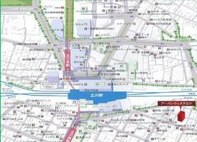 URBANVISTATACHIKAWA アーバンヴィスタ立川案内図