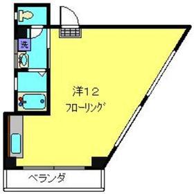 コルディア桜木町3階Fの間取り画像