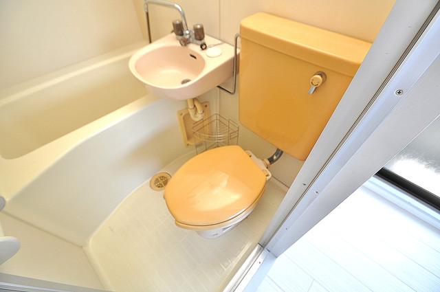 ハイム上小阪 お風呂・トイレが一緒なのでお部屋が広く使えますね。