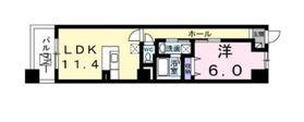 エクシーヴ3階Fの間取り画像