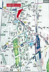 ラ・トゥール新宿グランド案内図