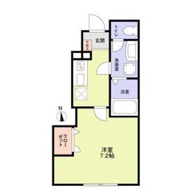 (新築)(仮称)杉並区永福3丁目計画A1階Fの間取り画像
