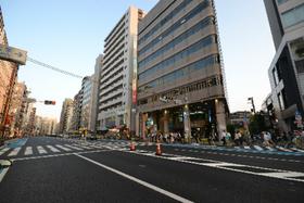 菱和パレス飯田橋エントランス