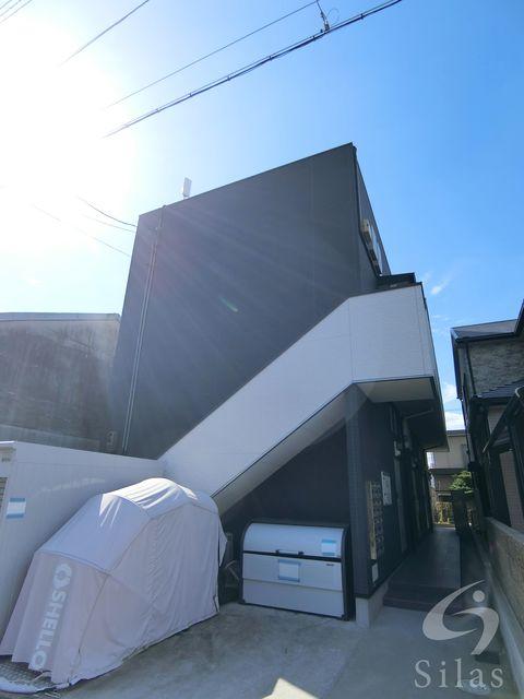 堺市堺区幸通の賃貸アパートの外観