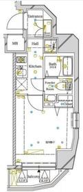 アルテシモ アーチ2階Fの間取り画像