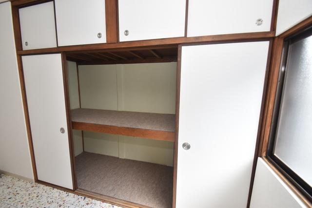 サンレイディアンスOKUDA もちろん収納スペースも確保。いたれりつくせりのお部屋です。