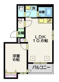 KJフォレスト2階Fの間取り画像
