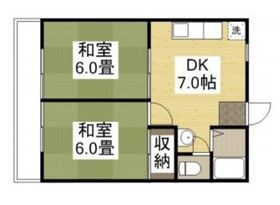 プレアール老松町 Ⅲ1階Fの間取り画像