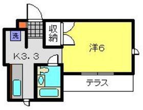ライブラK1階Fの間取り画像