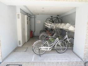 駐輪場完備しています♪
