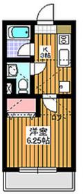 成増駅 徒歩4分1階Fの間取り画像