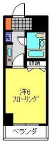ビートルズスクエアー横浜2階Fの間取り画像