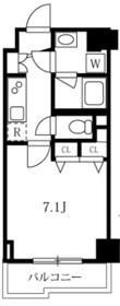 スカイコートグランデ清澄白河3階Fの間取り画像