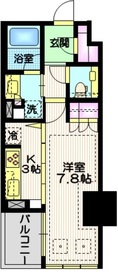 宮益坂ビルディング ザ・渋谷レジデンス14階Fの間取り画像