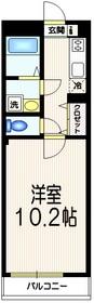 西新宿 SG COURT2階Fの間取り画像