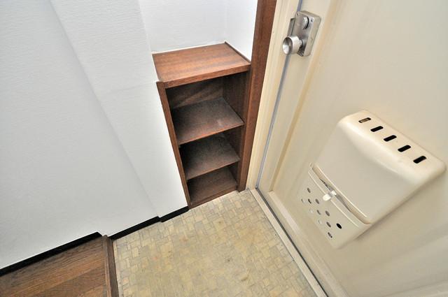 プレアール菱屋西 ゆったりとした玄関。もちろんシューズボックスもあります。