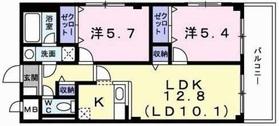 レフィナード1階Fの間取り画像