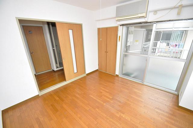 エンゼルハイツ小阪本町 陽当りの良いベッドルームは癒される心地良い空間です。