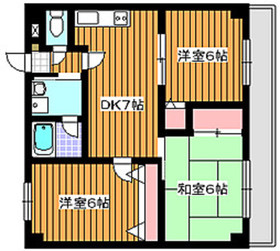 和光市駅 徒歩15分3階Fの間取り画像