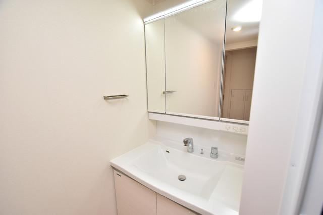 ハイツ ニッサク  人気の独立洗面所はゆったりと余裕のある広さです。