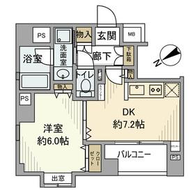 ディナ・スカーラ大井町 601号室