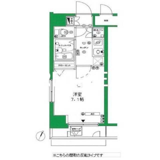 プレール日本橋弐番館間取図