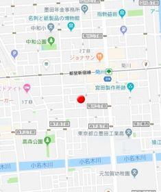 菊川駅 徒歩3分案内図