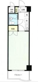シーガル鶴見2階Fの間取り画像