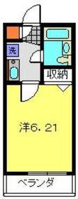 大倉山駅 徒歩13分1階Fの間取り画像