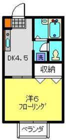 コート・ドゥ・ベール参番館1階Fの間取り画像