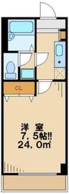 PRIMECOURT(プライムコート)1階Fの間取り画像