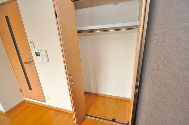 グランデージ長田東 各所に収納があるので、お部屋がすっきり片付きますね。