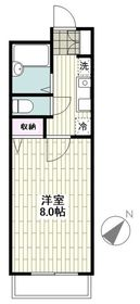 南林間駅 徒歩4分1階Fの間取り画像