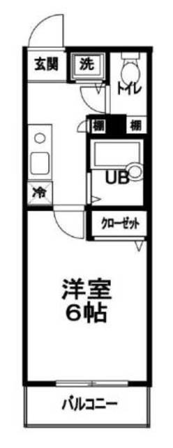 メインステージ日本橋小伝馬町間取図